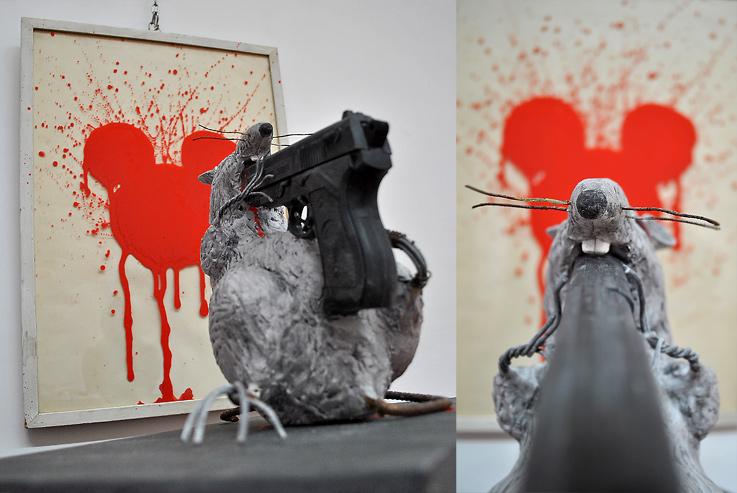 mickey-scultura-pietrasanta